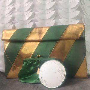 Vintage • Stunning Envelope Clutch Evening Bag
